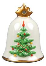 Vintage 1984 Signed Goebel West Germany Christmas Tree Bell Ornam-1st in... - $12.95