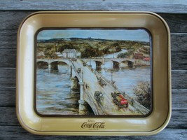 Coca-Cola Commemorative Tray 4th Y Bridge Limited Edition 1984 - $9.85