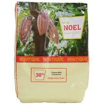 Noel Milk Chocolate Couverture Pistoles - 38%, Vidama - 4 bags - 4.4 lbs ea - $300.38