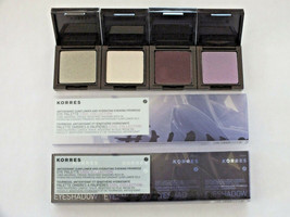 2 KORRES EYESHADOW QUAD COOL COLLECTION PALETTE-FS-NIB-$ 14.84