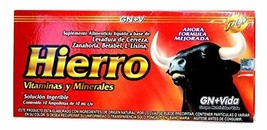 Iron Reinforzed with Vitamins for Anemia Eliminates Fatigue Increasing Energy An - $29.39