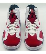NEW Nike Air Jordan 6 Retro Carmine 2021 384665-106 GS Size 6.5Y Women's... - $227.69
