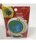 World Globe Bulletin Board Room Decor Teacher Supplies Contains 25 NEW-3... - $4.99
