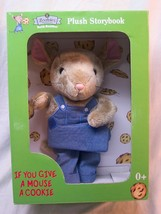 "Zoobies Book Buddies IF YOU GIVE A MOUSE A COOKIE 11"" Plush STUFFED ANIM... - $19.80"