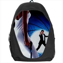 backpack the living daylights james bond agent 007 - $41.00