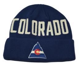 Colorado Rockies Vintage NHL Hockey Cuffed Knit Hat Beanie by Fanatics  - $21.80