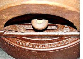 Antique Colebrookdale SAD Iron Co. Boyertown PA USA No. 2 with Handle AB 565-R image 7