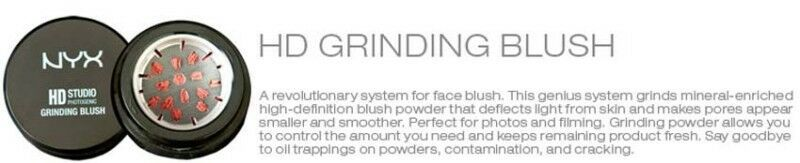 2 NYX HD Grinding Blush-8 New Colors-You Choose! - $50.85