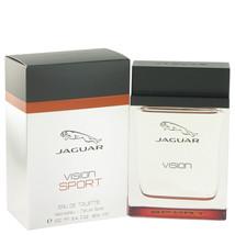 Jaguar Vision Sport by Jaguar Eau De Toilette Spray 3.4 oz - $23.95