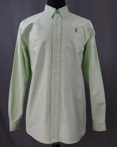 Ralph Lauren Classic Fit Long Sleeve Button Down Dress Shirt XL Oxford Collar - $18.95