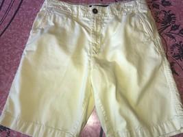 American Eagle ~ Men's Pastel Yellow Casual Deck Boat Shorts Preppy ~ 30 - $16.82