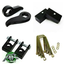 "Full 3"" Front Keys + 2"" Rr Blocks Lift Kit For 2011-2020 Chevy GM 2500 3... - $181.35"