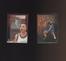1997-98 Fleer Rookie Rewind #8 Stephon Marbury Minnesota Timberwolves - $1.00