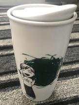 Starbucks 2015 Child Finger Paint 12oz Ceramic Travel Tumbler - $16.00