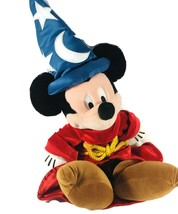 Mickey Mouse The Disney Store 19″ Sorcerer's Apprentice Fantasia Plush Stuffed - $19.99