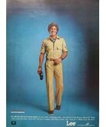 LEE Dungarees Jeans Vintage Magazine Print Ad LEE fits America - $9.87