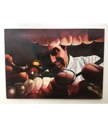 """""""The Dentist; an Inside View"""" Original Oil Painting by Steve Woron - $2,474.99"""