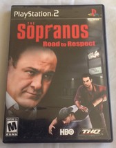 Sopranos: Road to Respect Sony PlayStation 2 Tested Good Condition No Bo... - $6.79
