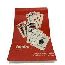 United States Playing Card Company Jumbo Bridge Score Pad - $2.52
