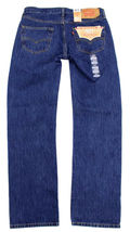 Levi's 501 Men's Original Fit Straight Leg Jeans Button Fly 501-0194 image 4