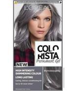 LOreal Colorista SMOKEY GREY SILVER Permanent Hair Dye Gel SHIMMERING CO... - $18.09