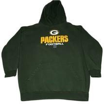 Green Bay Packers Hoodie Sweatshirt Mens 3XT NFL Team Apparel - $27.08