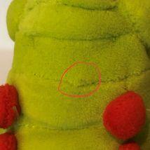 "Disney Store A Bugs Life Heimlich Caterpillar Beanie Plush Stuffed Animal 8"" image 10"