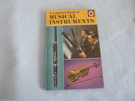 Vintage 1966 Lady Bird Book Musical Instruments Series 662 - $9.73