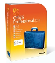 Microsoft Office 2010 Professional Plus - 1 PC - License  - $39.99