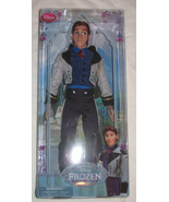 Disney Store Frozen Prince Hans Classic Doll/Toy. 12 inch. Brand New. - $33.00