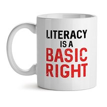 Literally Is A Basic Right Office Tea White Coffee Mug 11OZ - $17.59