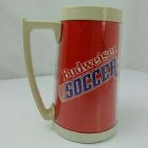 Budweiser Soccer Plastic Beer Mug Cup - $11.87