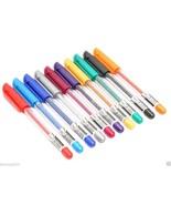 Glitter Colour Gel Pens X 30 P Sparkle Metalic Adult Coloring Book Pen - $17.92