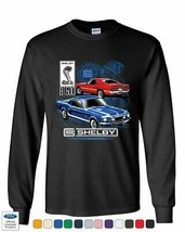 Ford Mustang Shelby GT500 Long Sleeve T-Shirt American Classic Shelby Cobra Tee - $16.63+