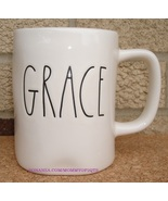 Rae Dunn GRACE Coffee Mug Tea Cup Artisan Collection Farmhouse Letters - $13.00