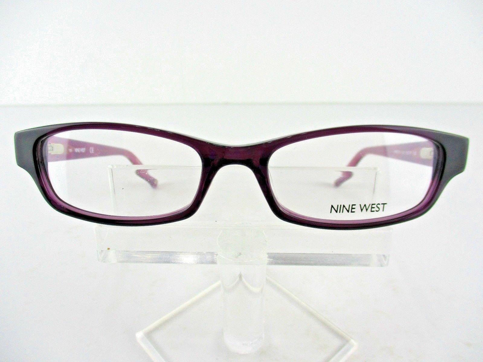 Nine West NW 5133 (521) Crystal Purple  53 x 17 135 mm  Eyeglass Frames