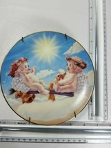 """DREAMSICLES 6-1/2"""" DECORATIVE PLATE NUMBERED TEETER TOTS DATED 1995 (44) - $14.85"""