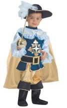 "Halloween Musketeer Deluxe Children's Costume for Boys (Toddler T4 (30"" ... - $37.20"