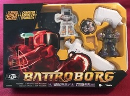 Tomy Battroborg Remote Controlled RC Battling Robots - Purple Robot T608... - $17.63