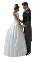 Jamie Lynn Ty Wilson Cake 5-1/2-Inch Tall Topper Figurine, Hispanic Couple - $33.94