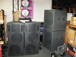 Imagine USA 2 Speakers & 2 Subwoofer - $2,399.00