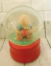 Humpty Dumpty Music Snow Globe plays Humpty Dumpty sat on a wall Brenda ... - $22.98