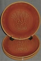 Set (4) Franciscan BROWN WHEAT PATTERN Dinner Plates CALIFORNIA - $49.49