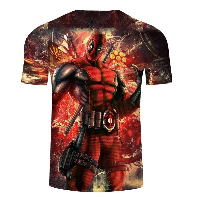 Deadpool Wade Wilson 3D Print All Over T-Shirt