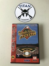 World Series Baseball CIB (Sega Genesis, 1994) - $10.45