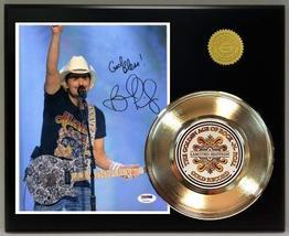Brad Paisley Gold Record Reproduction Signature Series LTD Edition Display - $85.45