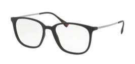 Prada Squared Eyeglasses PS03IV DG01O1 52MM Black Frame Demo Customisable Lens - $445.50