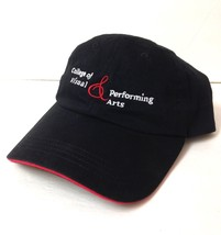TEXAS TECH COLLEGE OF VISUAL AND PERFORMING ARTS HAT Low Profile Red Rai... - $7.43