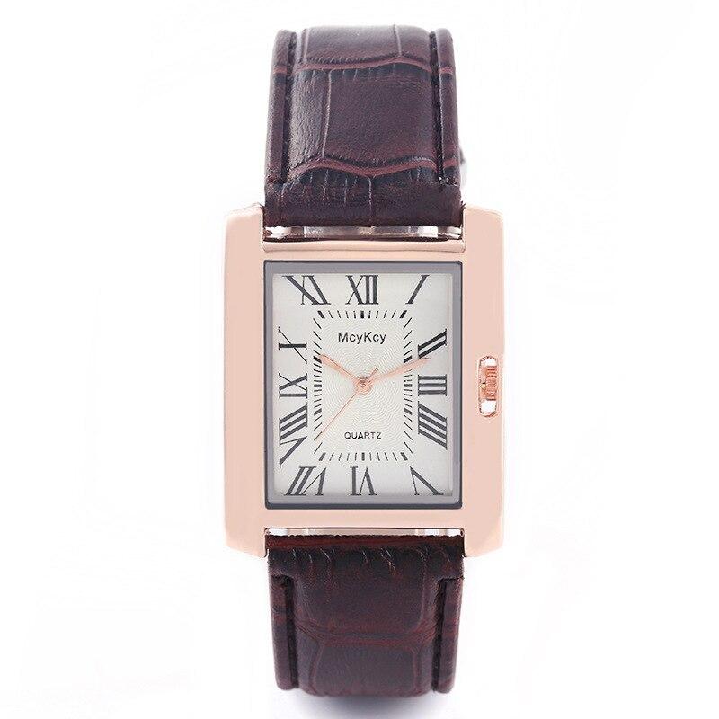 2018 Vintage Unique Rectangle Watch Womens Fashion Luxury Watches Ladies Wristwa