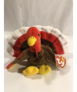 Ty Retired Beanie Baby - GOBBLES the Turkey 1996 Rare Collector's Item PVC - $4,000.00